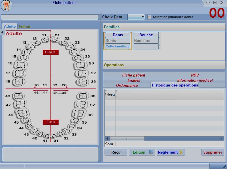 logiciel Gestion Cabinet Médecin Dentiste