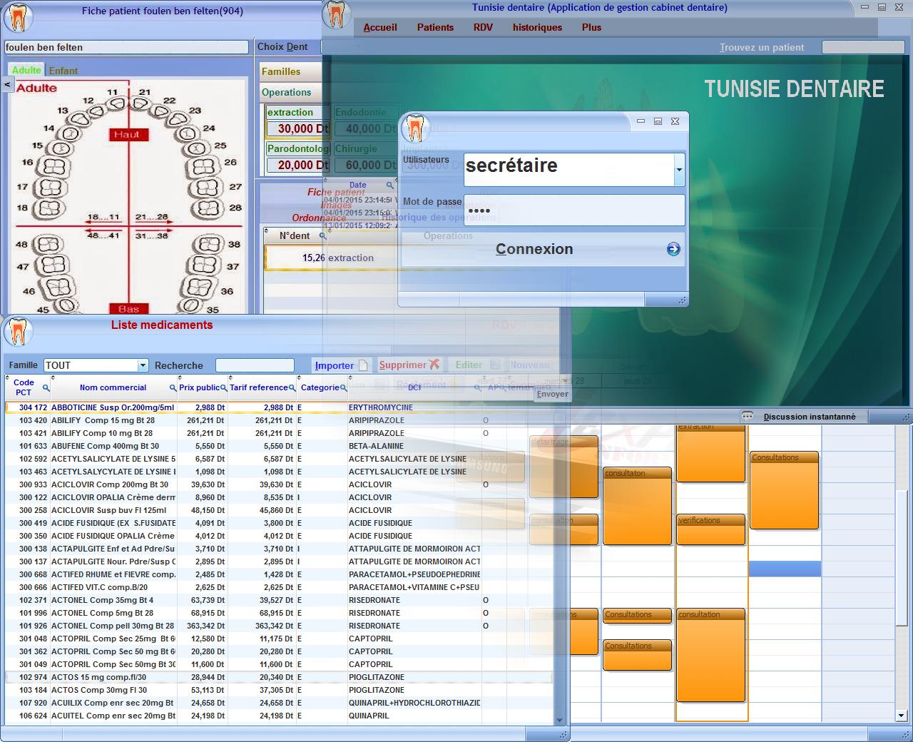 logiciel Gestion Cabinet Medecin Dentiste