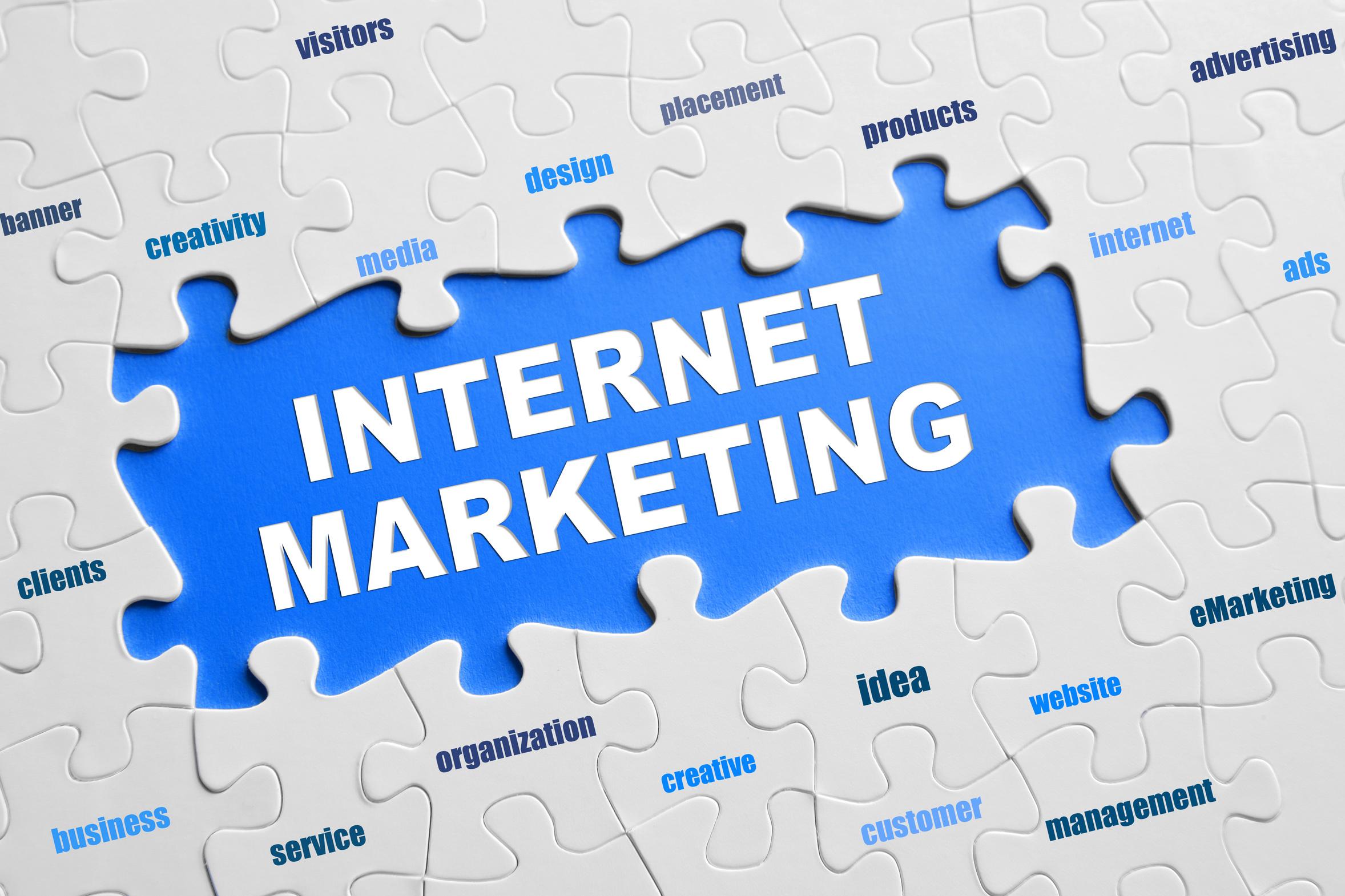 Société de marketing créatif pour une entreprise Internet