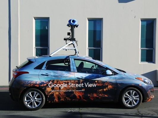 Google dope ses caméras Street View pour mieux référencer le monde